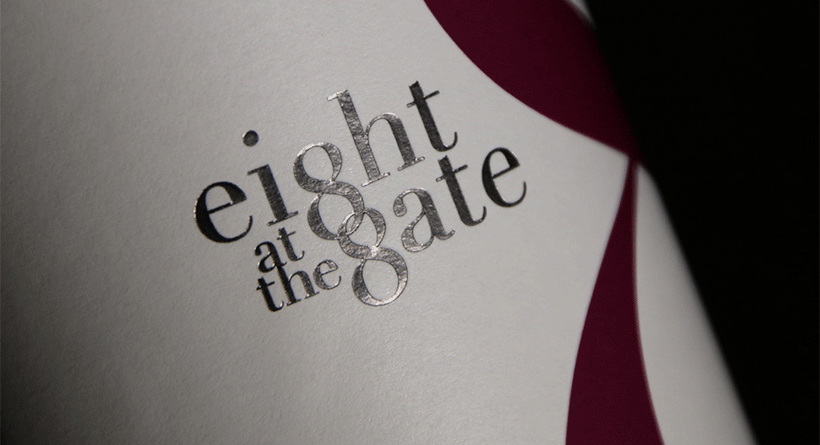 Eight at the Gate Bottle Logo