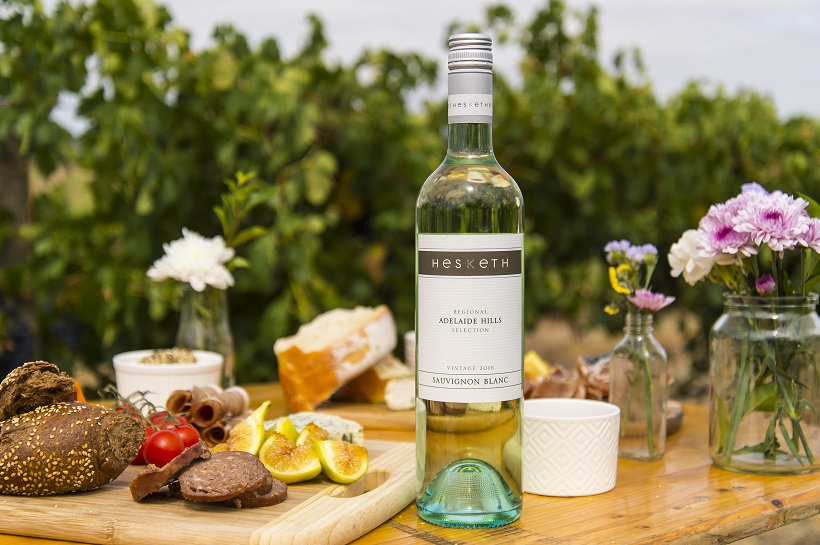 Hesketh Wines and taking plate | Halliday Wine Companion