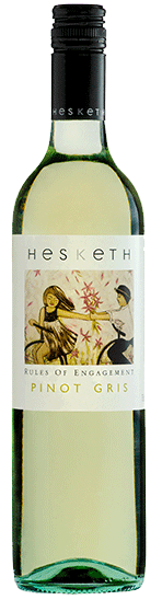Hesketh Rules of Engagement Pinot Gris 2015