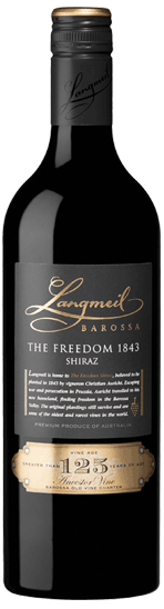 Langmeil The Freedom 1843 Barossa Shiraz