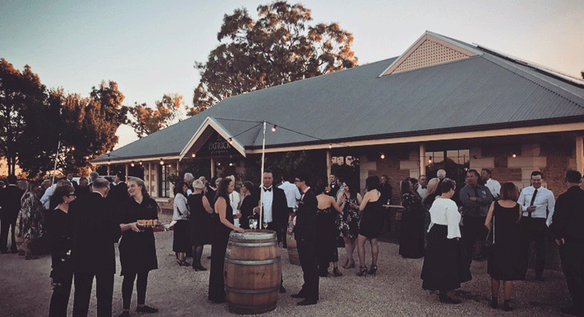 Patrick of Coonawarra event