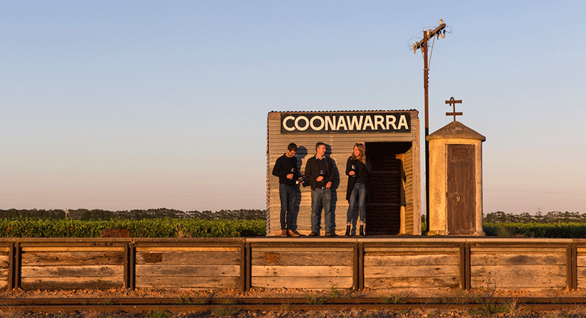 Patrick of Coonawarra shed