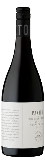 Paxton Quangdong Farm Shiraz 2017