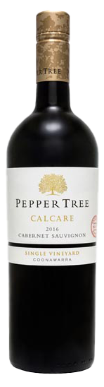 Pepper Tree Premium Reserve Calcare Single Vineyard Coonawarra Cabernet Sauvignon