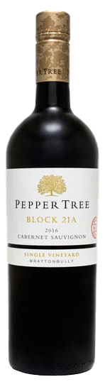Pepper Tree Premium Reserve Single Vineyard Block 21A Wrattonbully Cabernet Sauvignon