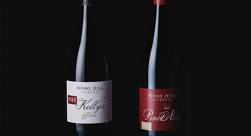 Home Hill Pinot Product Shot