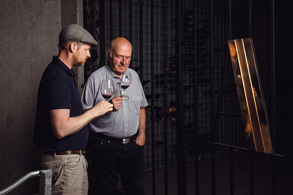 Winemakers Conor van der Reest and Peter Althaus