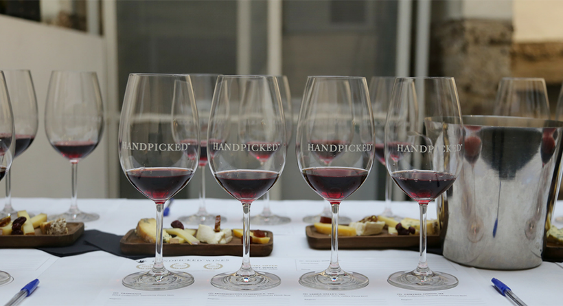 Handpicked Wines tasting