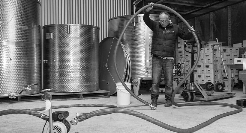 Winemaker Richie Condie
