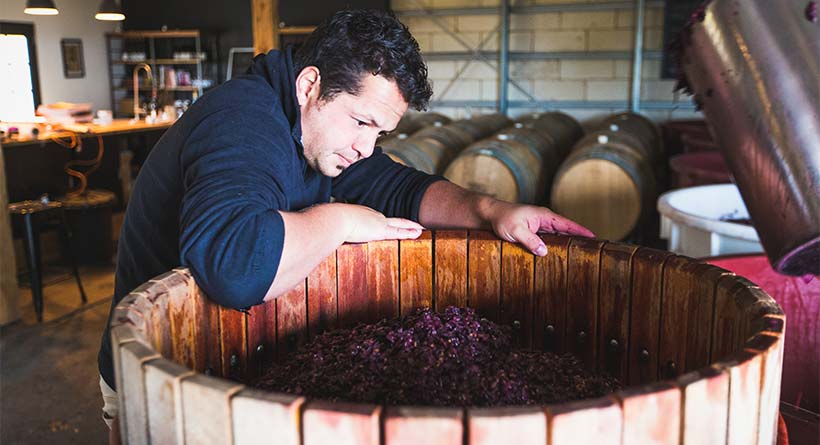 Lyons Will Estate - Winemaker Oliver Rapson