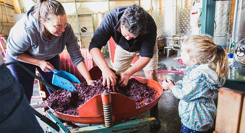 Lyons Will Estate - Winemakers Oliver Rapson and Renata Morello