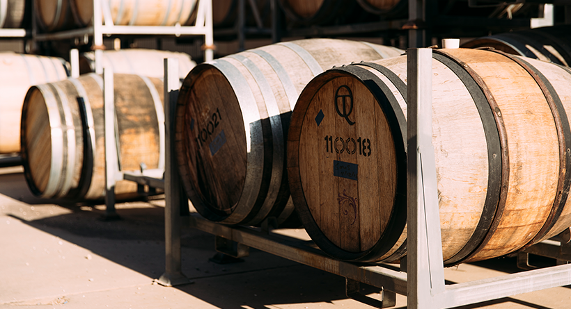 McPherson Wines barrels