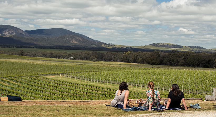 Mount Langi Ghiran Vineyard