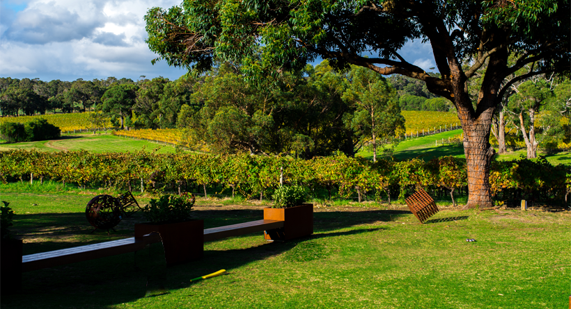 Hay Shed Hill Margaret River grounds | Halliday Wine Companion
