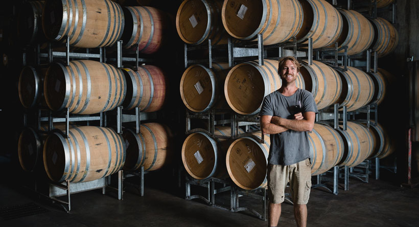 Winemaker Tyke Wheatley